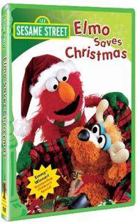 Sesame Street Elmo Saves Christmas New DVD