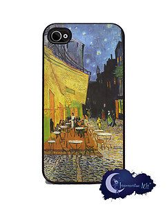 at Night by Van Gogh Art iPhone 4 4S Slim Case Cell Phone Cover