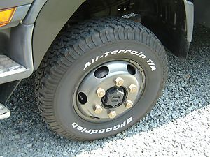 Mitsubishi Fuso wheels and tires may also fit UD Hino Sterling NPR