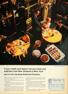 Express Credit Card Charles F Frost Original Advertising