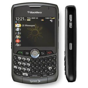 Blackberry Curve 8330 Sprint Rim  Camera Cell Phone 843163042995