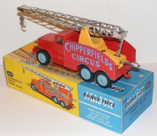 Corgi 1121 Chipperfields Circus Crane Truck Near MIB
