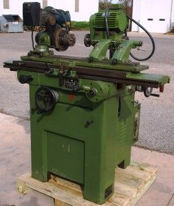 Chao Huei C 40 Tool Cutter Grinder Excellent Condition w Tooling
