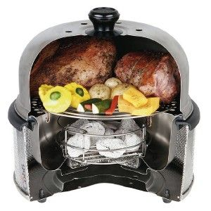 Cobb Stainless Steel Portable Tabletop Charcoal Barbecue BBQ Grill