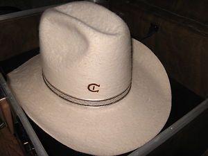 Vintage Charlie 1 Horse Western Cowboy HAT Travel Master hat case key