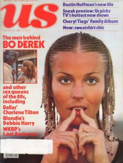 Also Charlene Tilton, Debbie Harry, Loni Anderson, etc. Mailing label.
