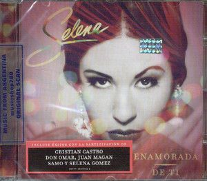 Enamorada de TI SEALED CD New 2012 Selena Gomez Don Omar