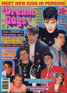 Guys Magazine September 1990 NKOTB Young Riders Chad Allen Wil Wheaton