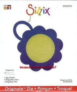 Sizzix Originals Tag Flower 656379 Last One Super Cute