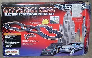 2004 City Patrol Chase Electric Power Road Racing Set by Golden Bright