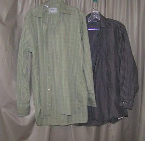 Lot 2 Mens Cotton Dress Shirts 15 5 M Charles Tyrwhitt Forsyth Canada