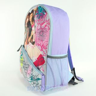 Disney Shake It Up Cece Jones and Rocky Blue 16 Large Backpack Girls