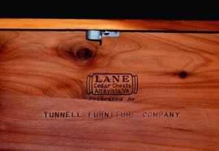 Miniature Cedar Hope Treasure Chest Trinket Jewelry Vintage Lock Box