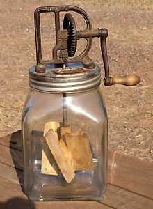 Antique Dazey Butter Churn No 40 Original Pat Feb 14 1922 St Louis MO
