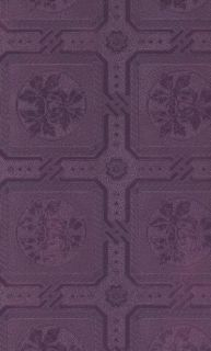 Tin Ceiling Paintable Wallpaper Leafy Squares 48757