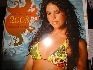 2008 Houston Rockets Cheerleaders Swimsuit Calendar