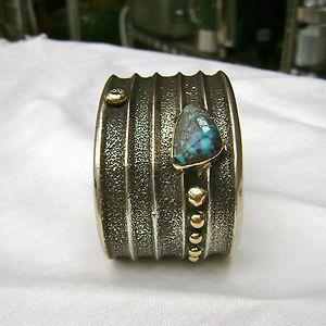 Charles Loloma (Hopi Native American 1921 1991) Cuff Bracelet