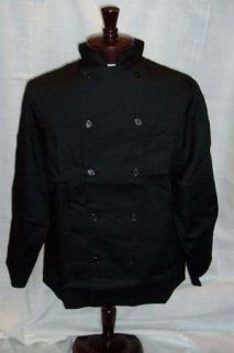 High Quality Monogram Executive Chef Coats 4 Styles