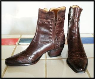 Fancy Charlie I One Horse Lucchese Custom Hand Made Shorty PeeWee
