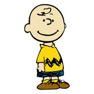Charlie Brown Cartoon Bumper Sticker 3X6