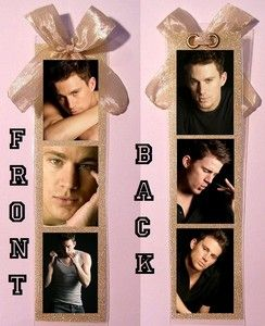 Channing Tatum Custom Made Bookmark w 6 Different Pictures 1 of A Kind