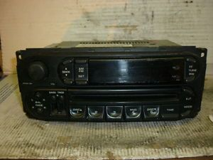 07 Dodge Caravan Durango Neon Ram Dakota Cherokee Radio Cd P05064354AJ