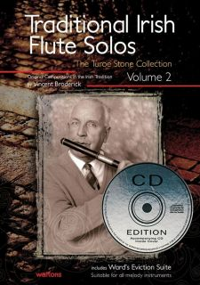 IRISH FLUTE SOLOS VOLUME 2 BOOK + CD EDITION CELTIC FOLK NEW
