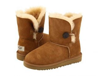 product name ugg australia kid s bailey button chestnut boot 5991