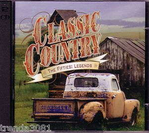 Time Life Classic Country 50s Legends 2CD RARE Fifties Johnny Cash