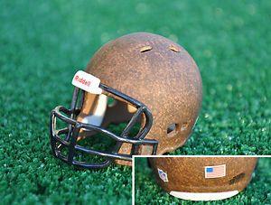 Washington Redskins Leather Riddell Custom Pocket Pro NFL Helmet