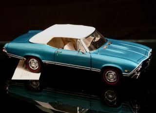 1968 Chevrolet Chevelle SS396 Franklin Mint Limited Edition 925