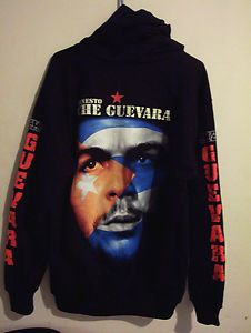 NEW CHE GUEVARA SWEATER HOODIE JACKET T SHIRT HOOD CUBA REVOLUTION