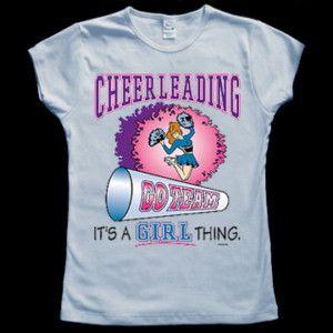 Funny Cheerleading Cheerleader Jr Tee Shirt T Shirt