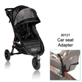 Baby Jogger BJ15210 City Mini GT Single in Black Shadow with Car Seat