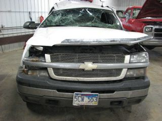 from this vehicle 2004 CHEVY SILVERADO 2500 PICKUP Stock # TJ8658