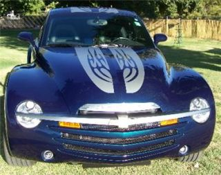 Chevy SSR Dual 10 Racing Stripes With Tribal Flames, Your Choice Of