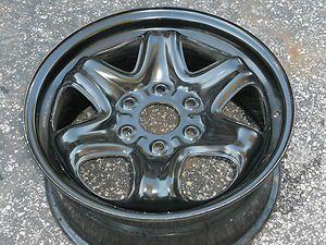 Chevrolet Traverse 09 11 17 Factory Steel Wheel Six Spokes 1 Wheel