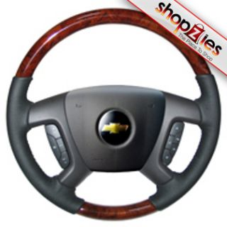 Chevy Tahoe Avalanche 2007 2011 Wood Steering Wheel