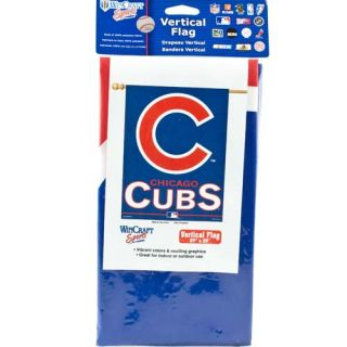 Chicago Cubs Vertical Hanging Flag Banner 27 x 37 New MLB Yard Lawn