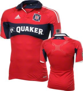 Chicago Fire Adidas 2012 Authentic Home Tech Fit Jersey