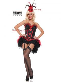 Cabaret Showgirl 2012 Authentic Mystery House Costume Moulin Rouge 3