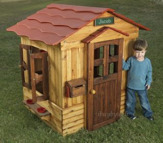 KidKraft Outdoor Playhouse Cottage Kids Club Play House