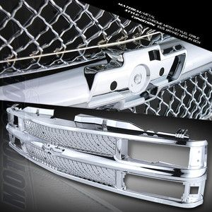 88 98 CHEVY SILVERADO C 10 C K 1500 2500 3500 PICKUP TRUCK CHROME