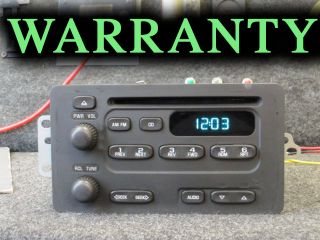 Chevy Geo Tracker Suzuki Vitara CD Disc Player Radio 00 01 02 03 04