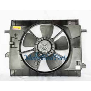 06 11 CHEVROLET HHR 2.2L/2.4L TYC REPLACEMENT RAD.&COND. COOLING FAN