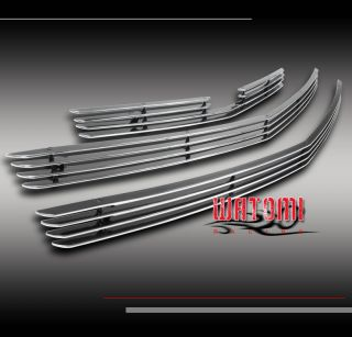 03 06 Chevy SSR Front Bumper Billet Grille Grill Insert Upper Lower