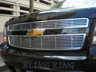 2007 2010 Chevy Suburban Chrome Grille Grill Insert