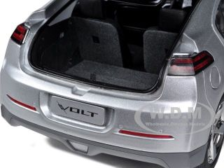 18 scale diecast car model of chevrolet volt silver die cast car by