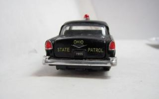 Road Champ 1955 Chevy Belair Ohio State Patrol Toy Car