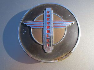 1942 1946 1947 Chevrolet Steering Wheel Horn Button Cap Cover